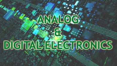 Analog & Digital Electronics engineering practicals