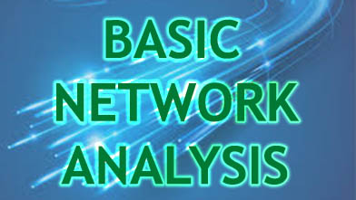 Basic Network Analysis engineering practicals