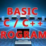 basic computer practicals