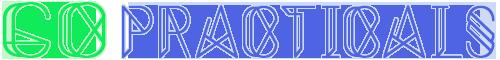 Go Practicals Logo